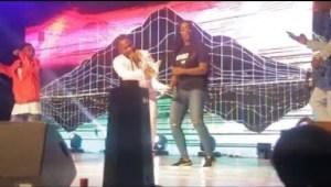 Video: Rudeboy and Tiwa Savage Performance At Ushbebe